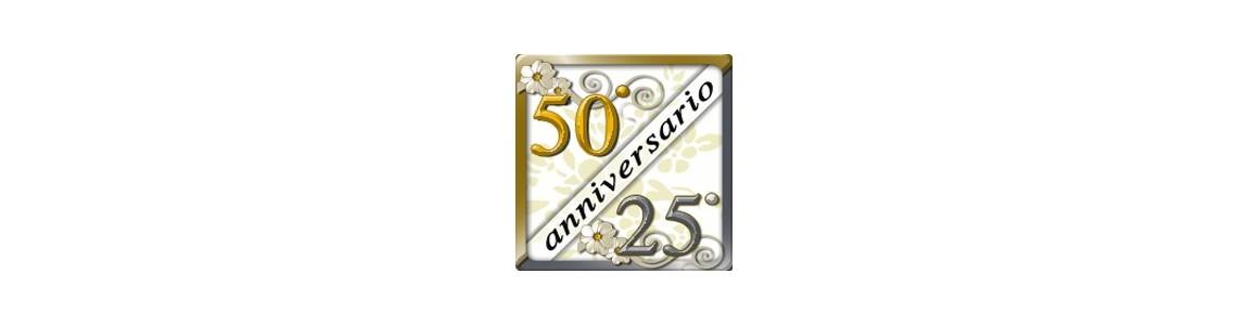 Palloncini 25° e 50° anniversario di matrimonio