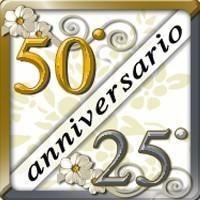 25° e 50° Anniversario