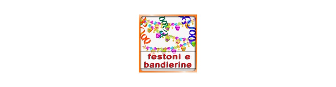 Festoni e Bandierine | colora la tua festa scegli Tommyparty.it