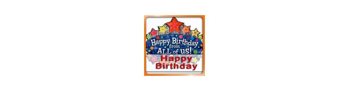 Palloncini Happy Birthday, vendita on-line di palloncini per compleanni