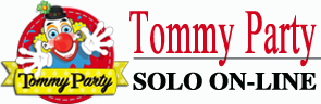 logo Tommy party footer